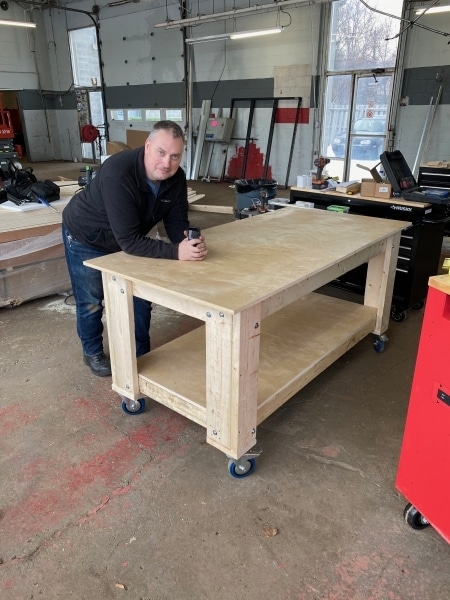 First Project! A work bench