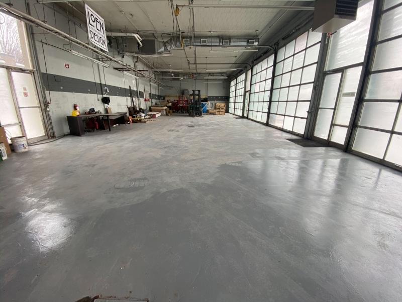 Refinishing the floor