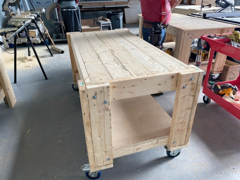 More workbenches!