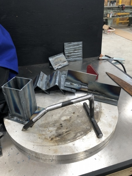 A bunch of my welds